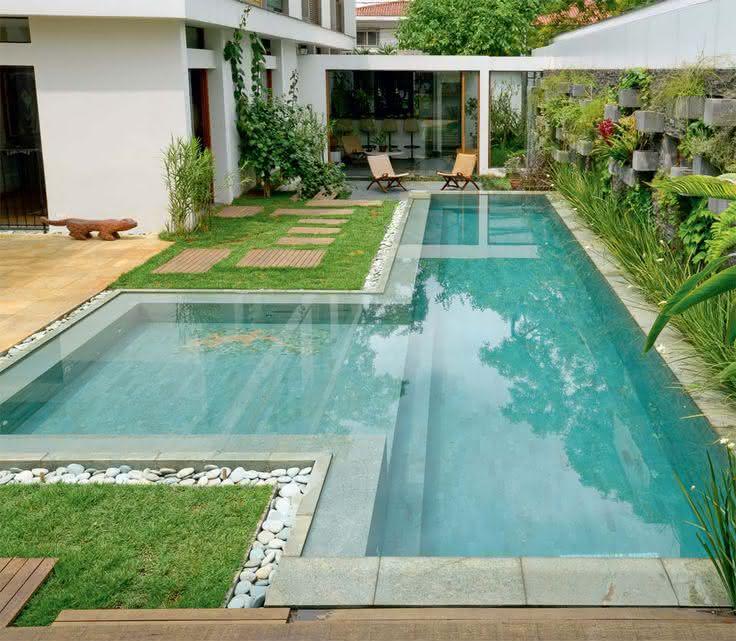 Imagens de piscinas piso para piscina for Piscinas decoracion fotos