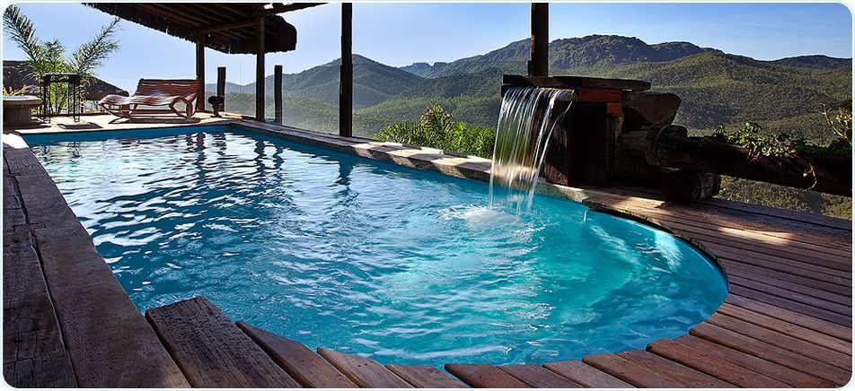 Imagens de piscinas piso para piscina for Piscinas rusticas