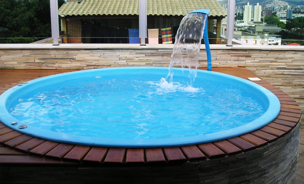 Pre os de piscinas piso para piscina - Piscina redonda fibra ...