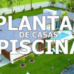 Plantas de Casas com Piscina