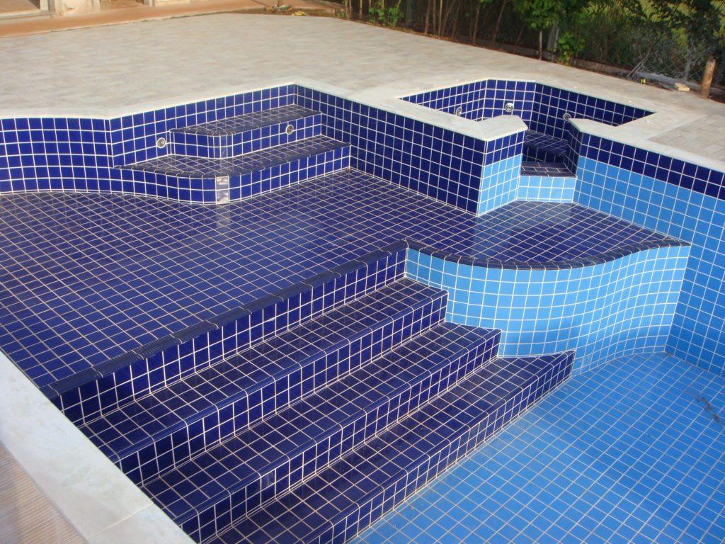 azulejos para piscina de alvenaria 20 modelos azulejo