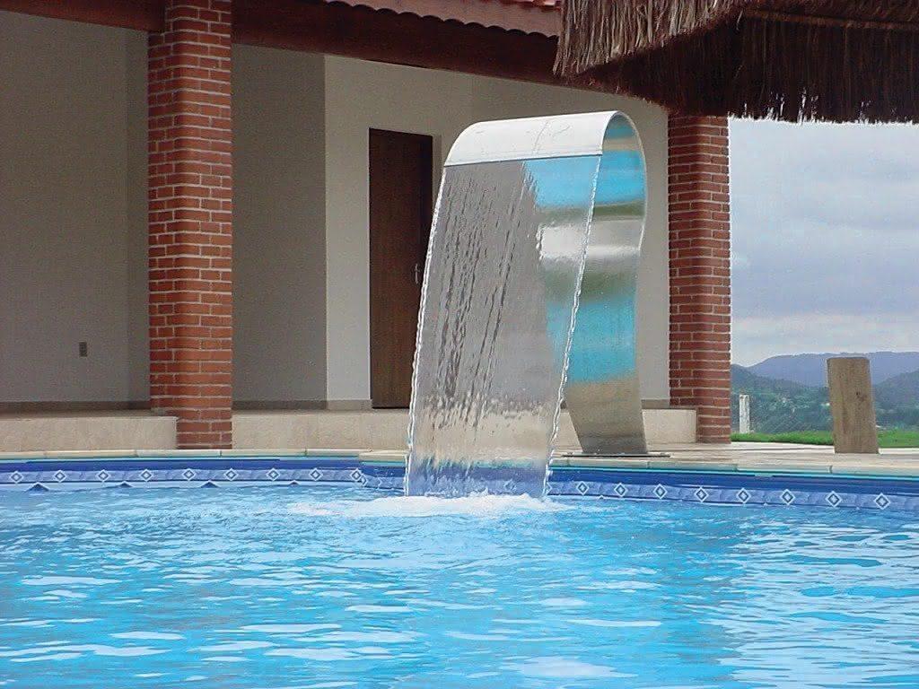 Cascatas para piscinas de alvenaria fibra 36 fotos e - Fotos de piscina ...