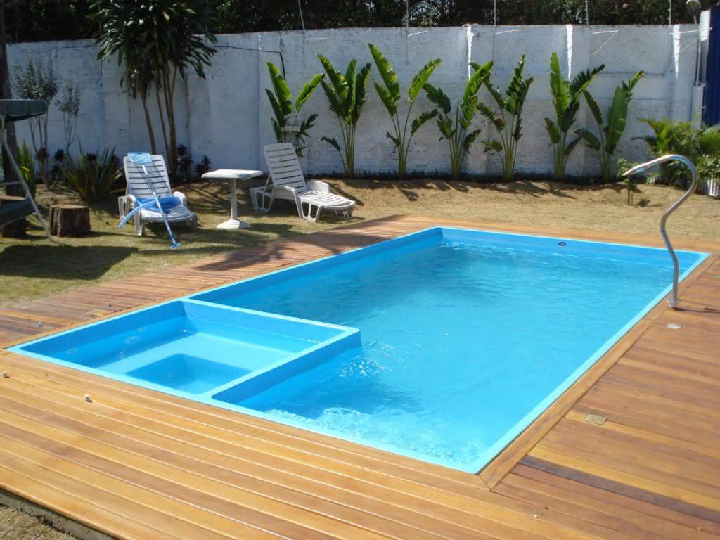 piscinas pequenas para casas fibra alvenaria 40 modelos On mantenimiento de piscinas pequenas