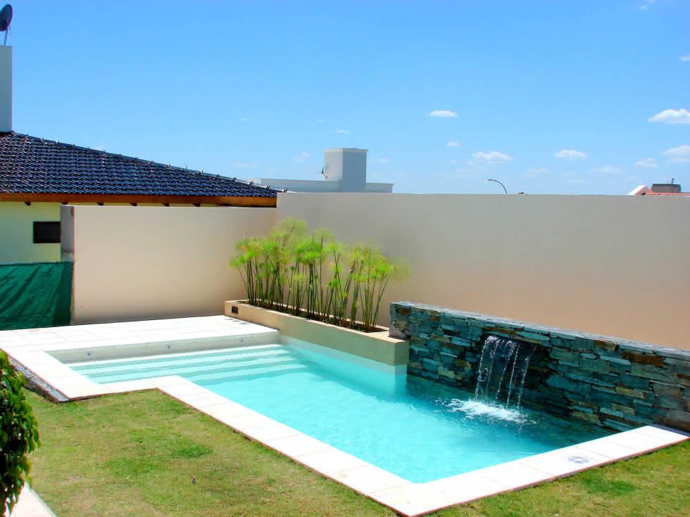 casas super pequenas piscinas pequenas para casas fibra alvenaria 40 modelos