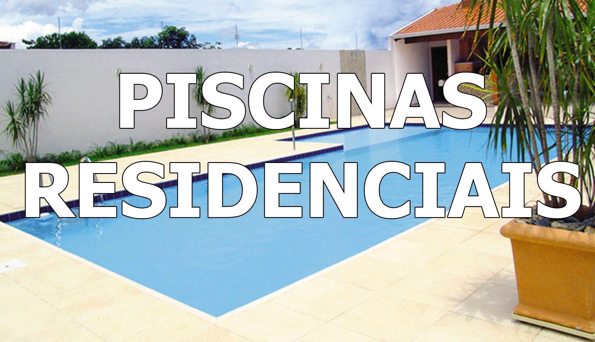 Piscinas Residenciais