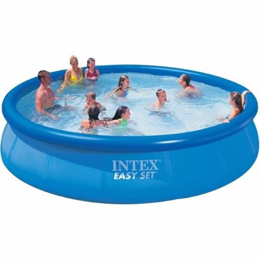 Piscina infl vel infantil intex com escorregador manual for Piscinas rectangulares intex