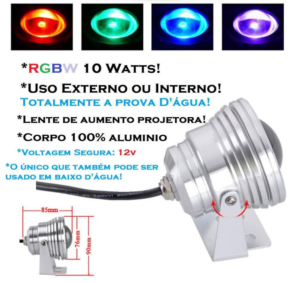 Refletor RGB para Piscina